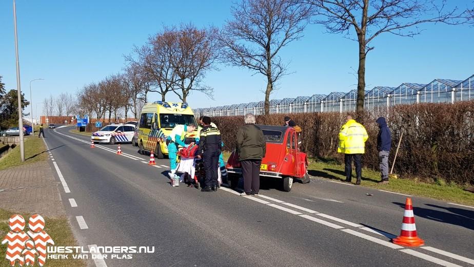 Automobilist gewond bij ongeluk Nieuwelaan