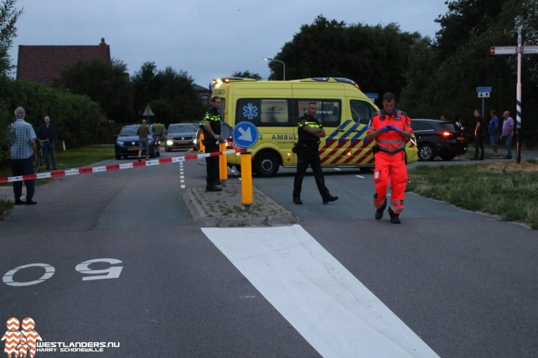 Ernstig ongeluk aan de Nieuwlandsedijk