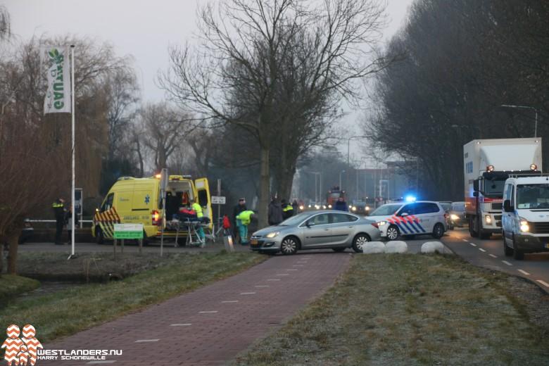Scooterrijder gewond bij ongeluk Galgeweg