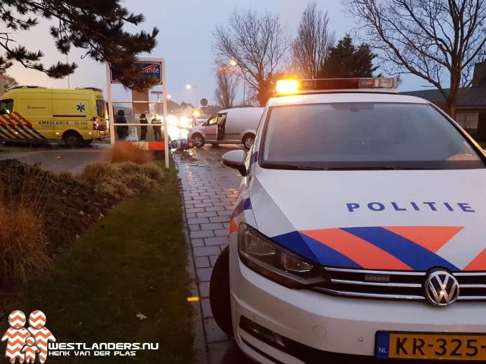 Scooterrijder licht gewond bij ongeluk Noordlandseweg