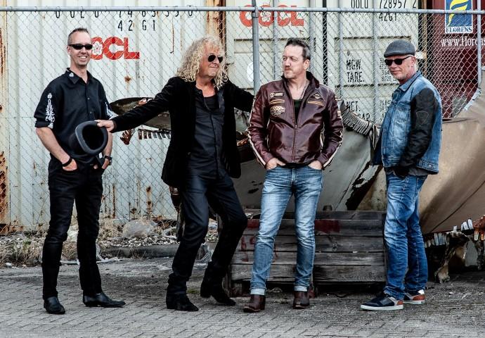 Dock Six 'a live rock experience' in de Muziekzolder Maasdijk