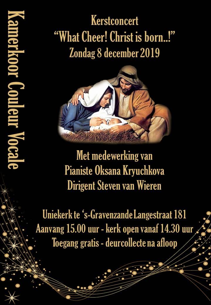 Kerstliederen en Christmas Carols in de Uniekerk