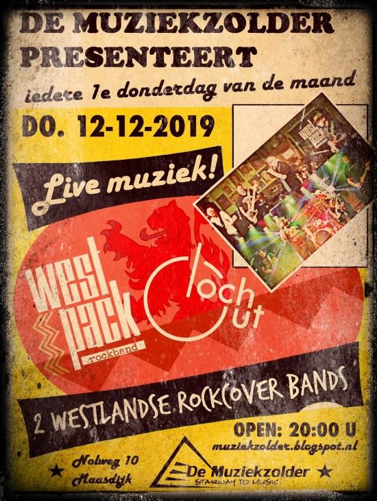 Loch Out en West Pack in de Muziekzolder Maasdijk