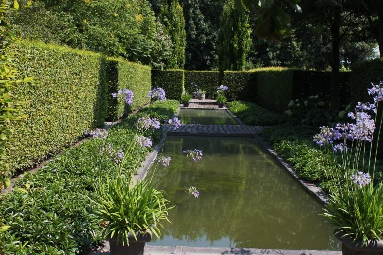 Presentatie over tuinvijvers door Leo Brand