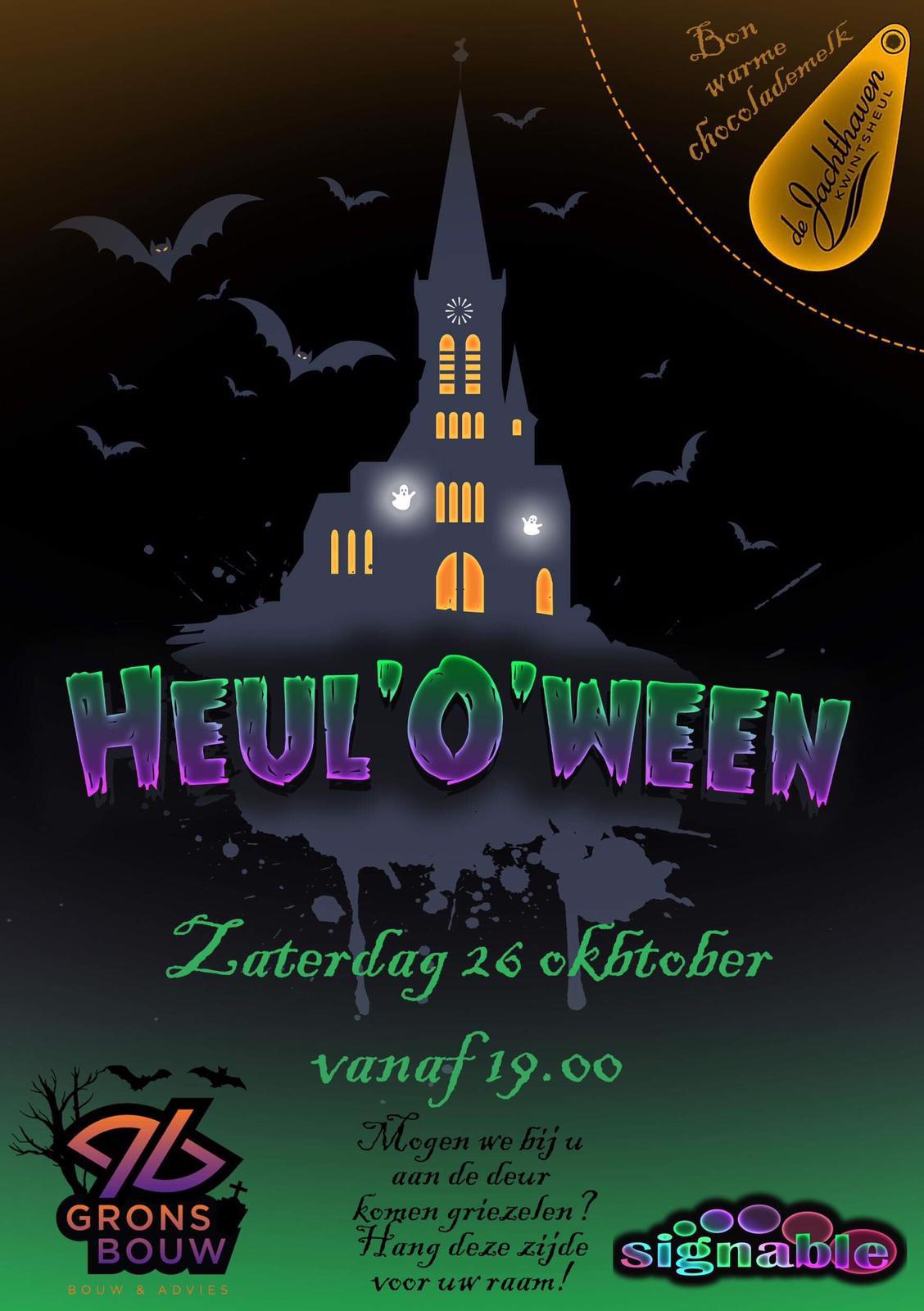 Halloween in Kwintsheul op 26 oktober