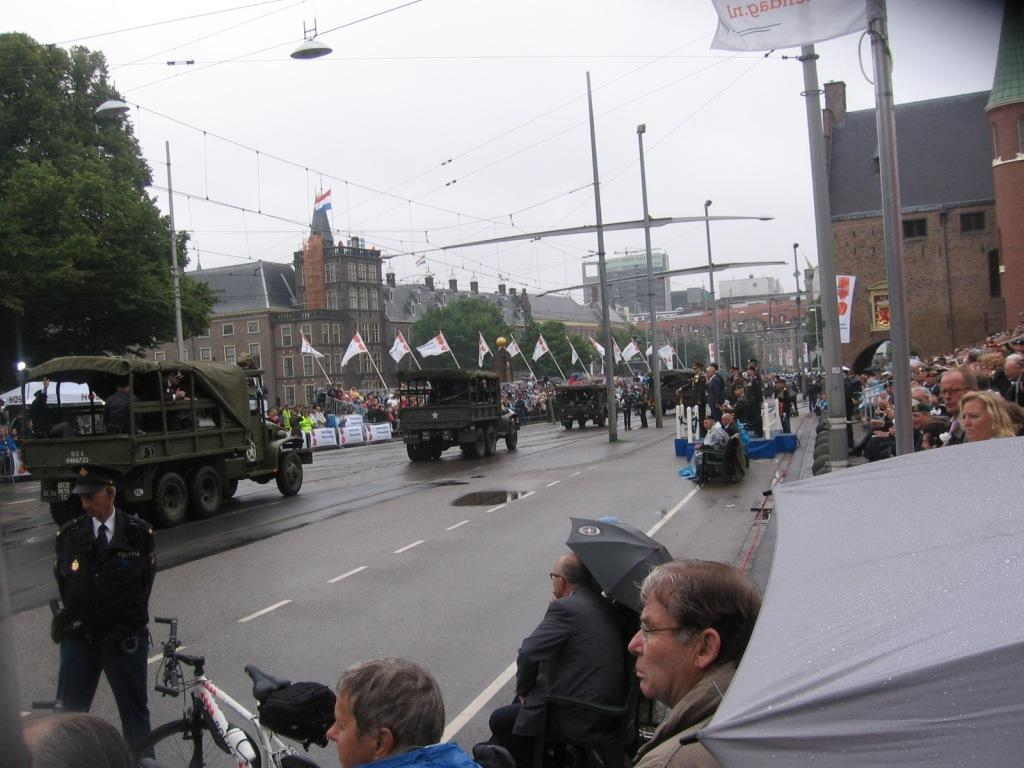 Koning en vicepremier bij Nederlandse Veteranendag