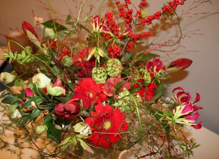Kerstdemonstratie Groei & Bloei Westland