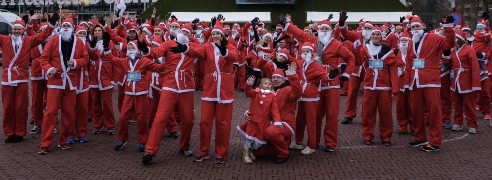 Rotary Santa Run 15 december in Den Haag!