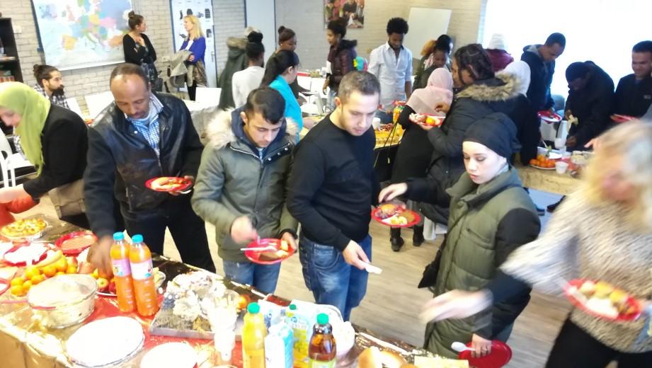 Kerstfeest bij Vluchtelingen Werk Westland!