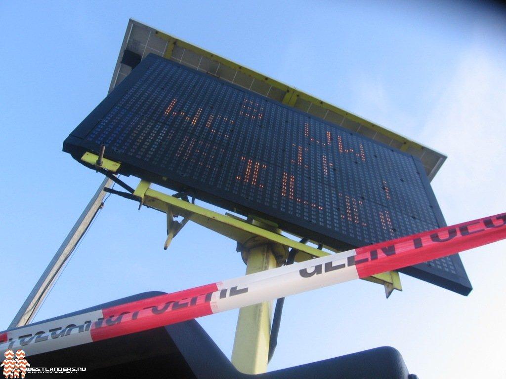 Inzet LED-schermen tijdens calamiteiten niet mogelijk