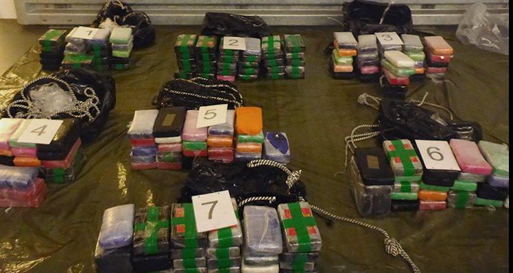 Douane onderschept 186 kilo cocaïne op schip