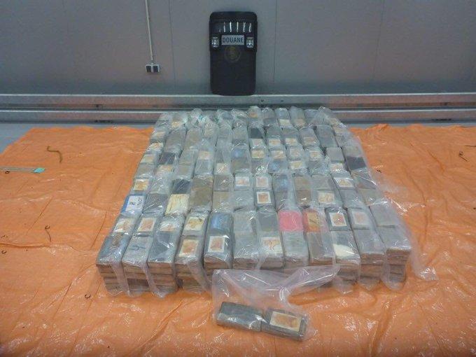 Nog een grote cocaïnevangst in Rotterdamse haven