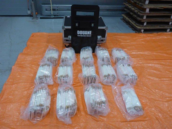 Douane onderschept 66 kilo cocaïne