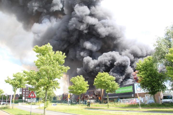 Crashtender inzet bij Grip 2 brand Berkel en Rodenrijs