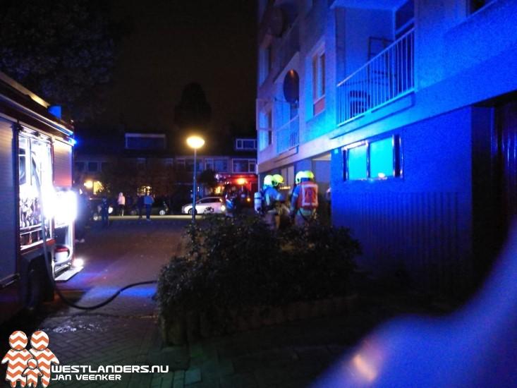 Binnenbrand aan de Ruysdaelstraat