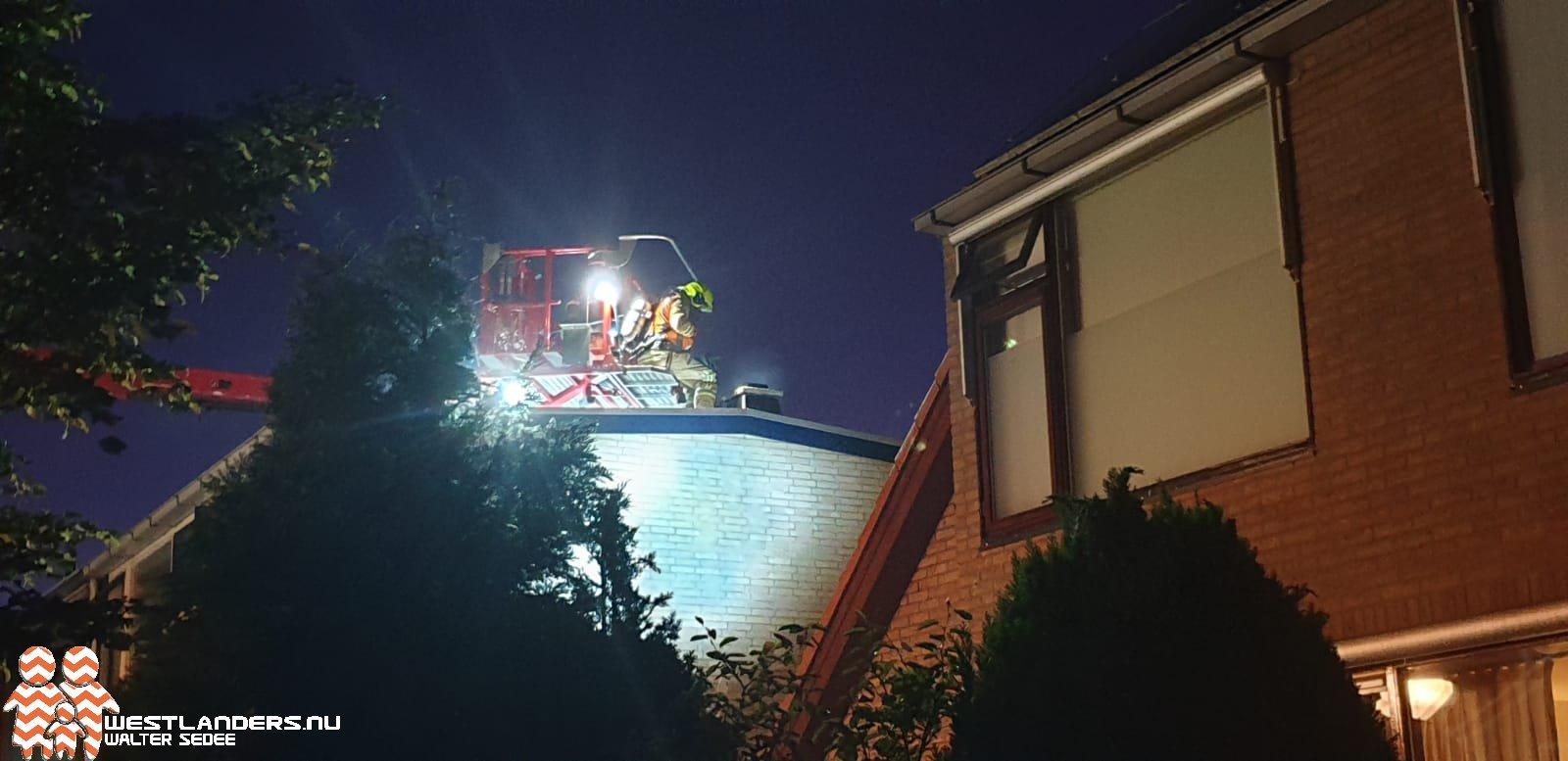 Veel schade na schoorsteenbrand Maasland
