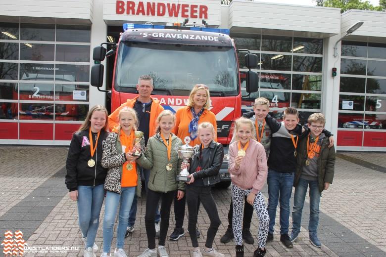 De Kameleon winnaar 49e schoolbrandweerwedstrijd