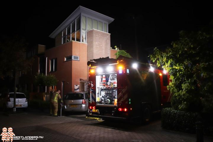 Vuurkorf veroorzaakt brand op balkon
