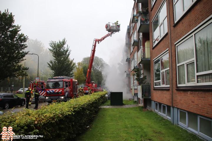 Vier gewonden bij kelderbrand Meppelweg