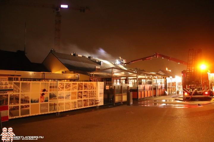 Zeer grote brand bij Italiaans restaurant op Kijkduin