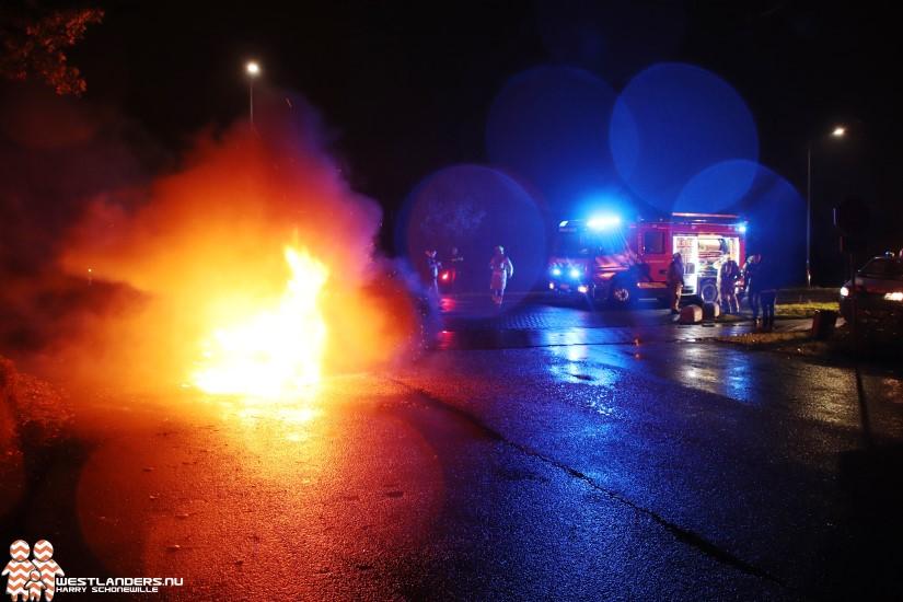 MP3 motor uitgebrand aan de Galgeweg