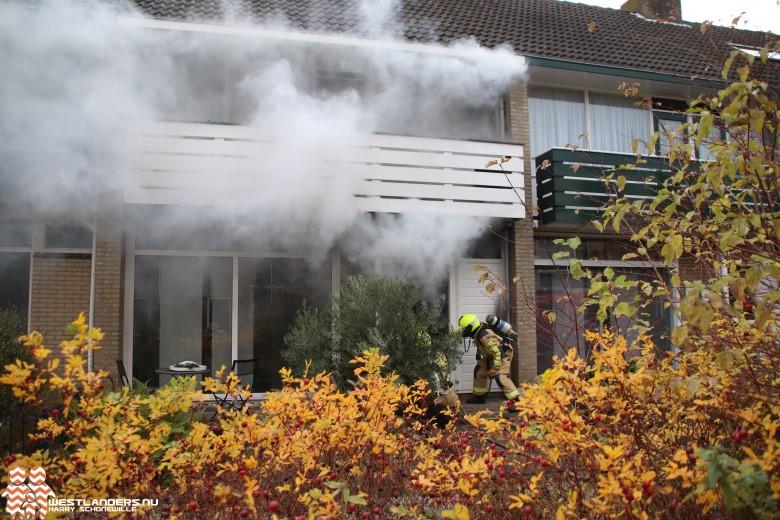 Binnenbrand na kortsluiting in meterkast
