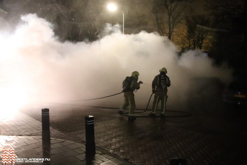 Stekkerauto uitgebrand in Wateringen