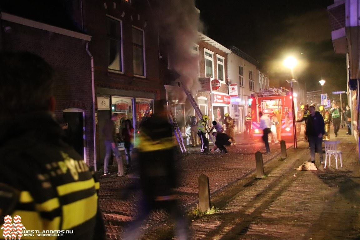 Zeer grote brand bij pizzeria Molenstraat
