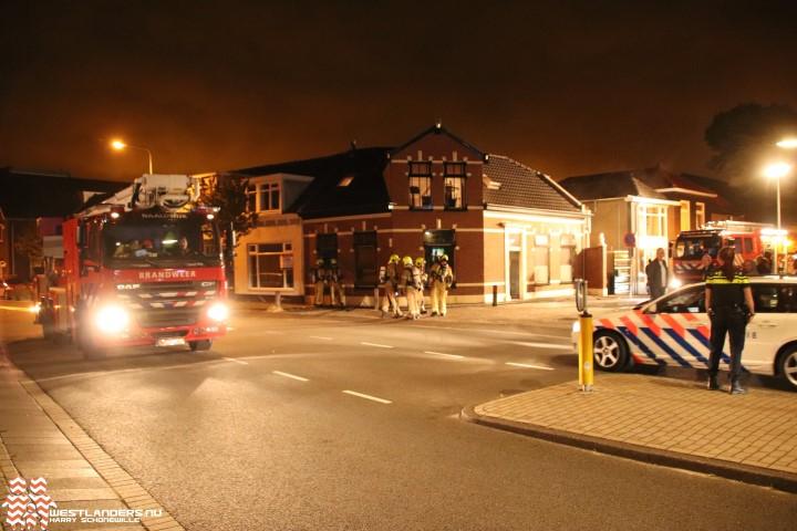 Gewonden en veel schade bij brand Naaldwijkseweg
