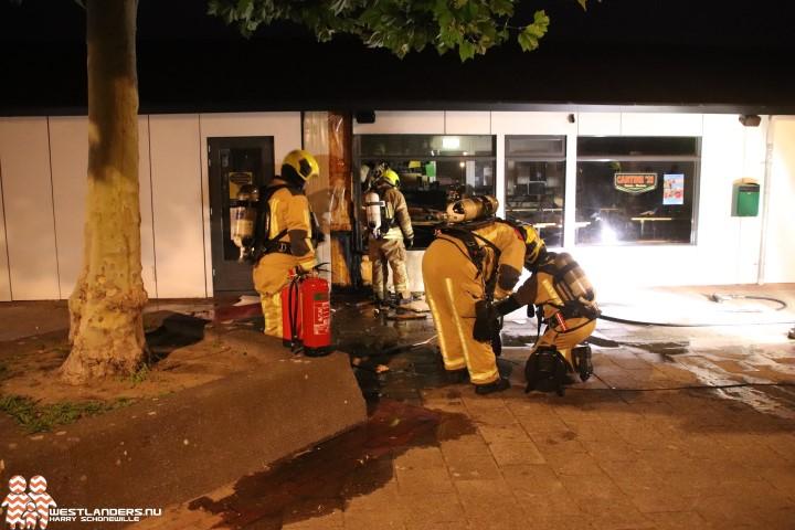 Brandstichting bij camping Hoek van Holland
