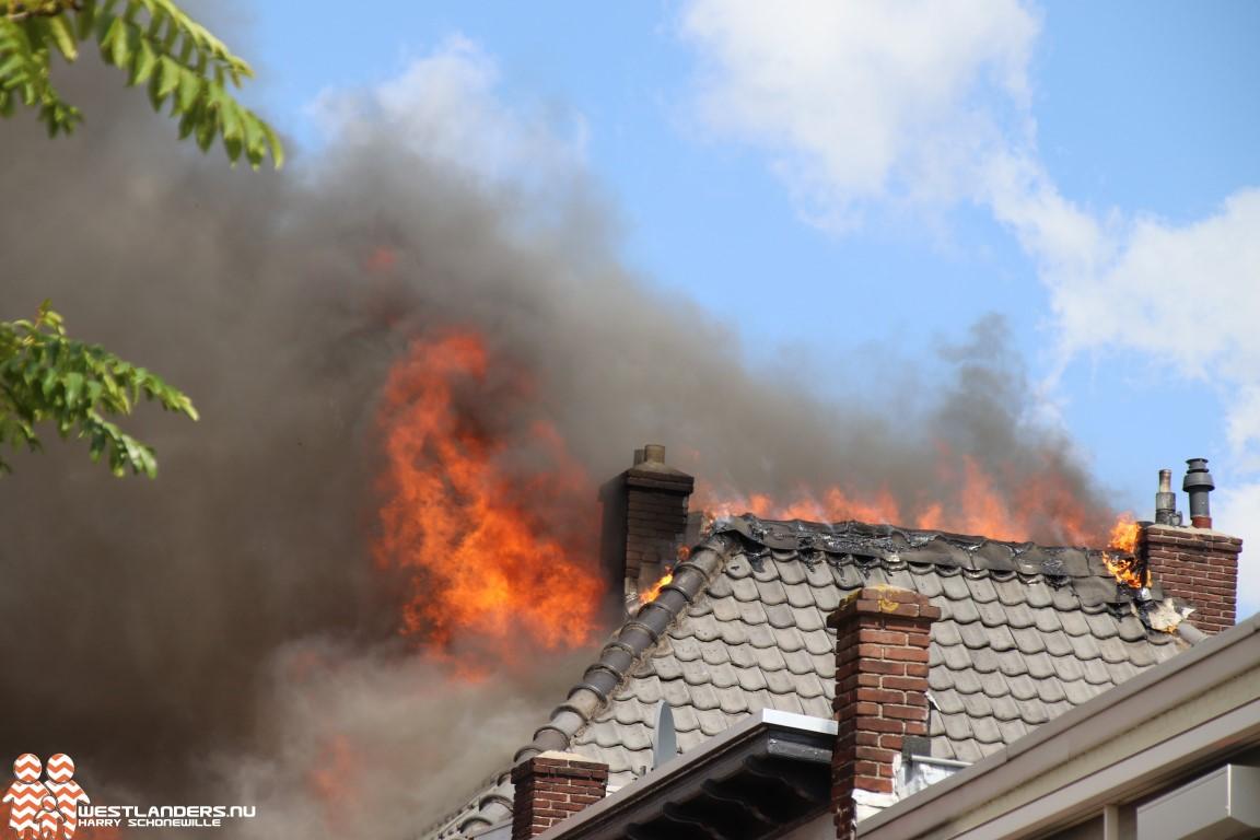 Opnieuw zeer grote brand in Naaldwijkse Molenstraat