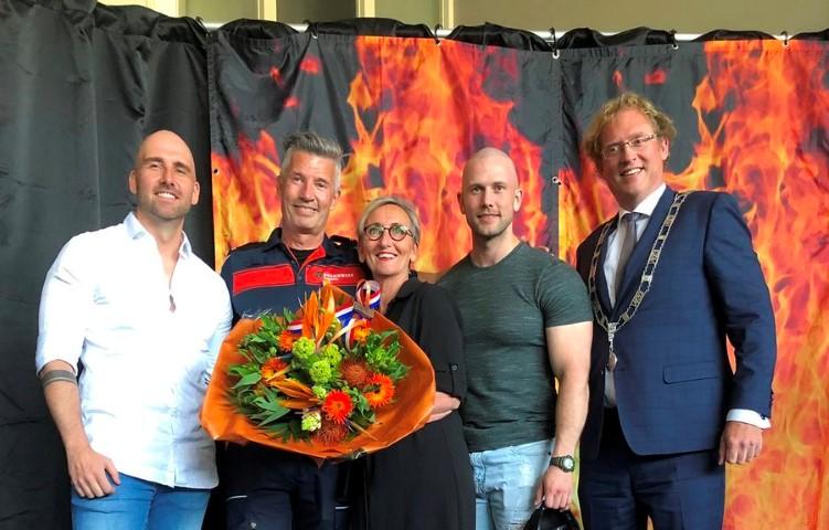 Koninklijke Onderscheiding bij de brandweer