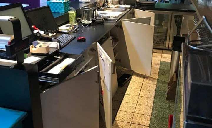 Inbraak bij Lunchroom Bijzonder