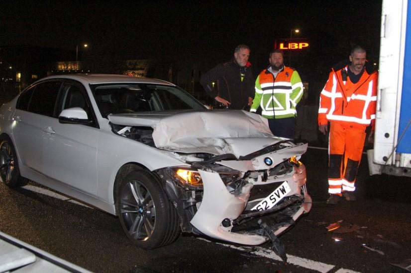 Licht gewonde bij ongeluk A20