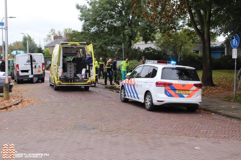 Vrouw gewond bij ongeluk Koningin Julianalaan