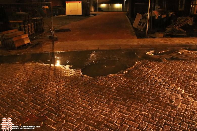 Wateroverlast aan de Kerklaan