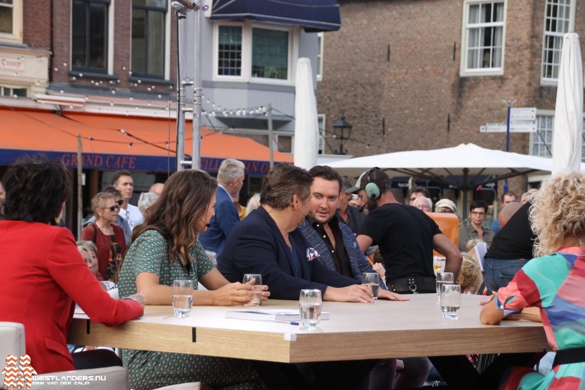 René Froger en Tino Martin bij Tijd voor MAX in Delft