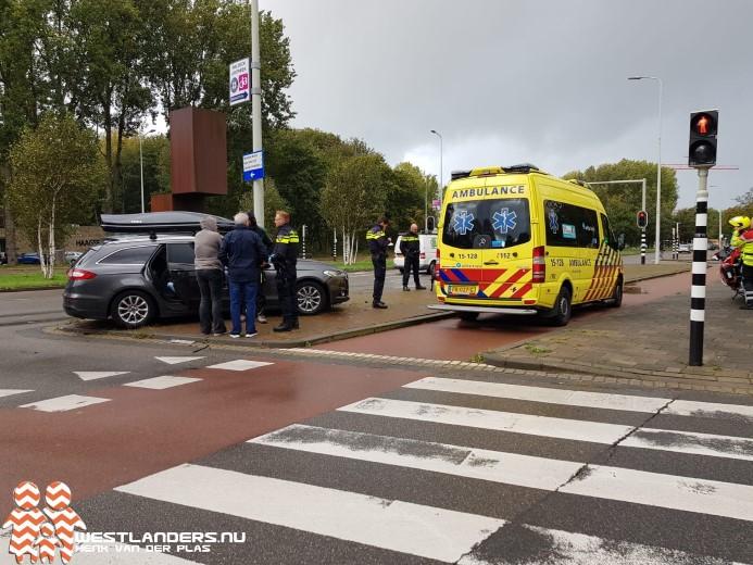 Vrouw gewond na ongeluk Ockenburghstraat