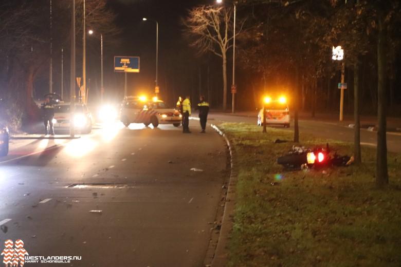 Motorrijder zwaar gewond na ongeluk Ockenburghstraat