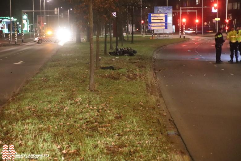 Motorrijder overleden na eenzijdig ongeval