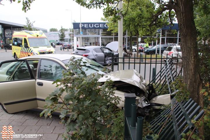 Twee gewonden bij klapper Kerketuinenweg