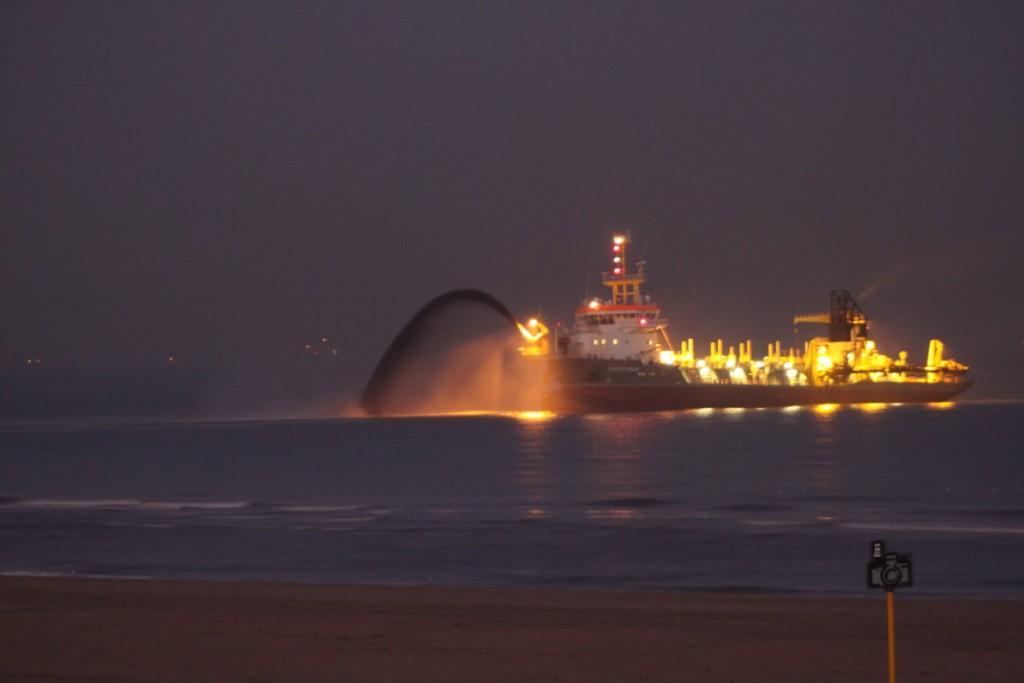 Scheveningse strand krijgt 400.000 m3 zand