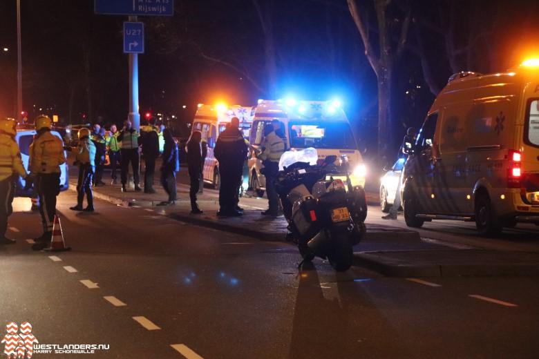 Twee zwaar gewonden bij ongeluk Erasmusweg