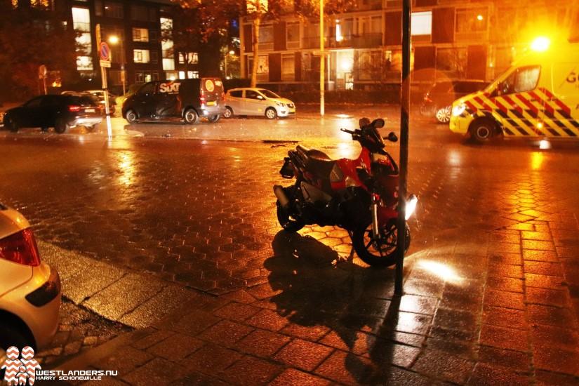 Scooterrijder gewond na ongeluk Beresteinlaan