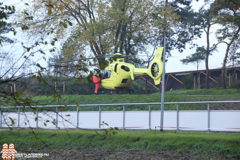 Traumahelikopter naar de Uithof