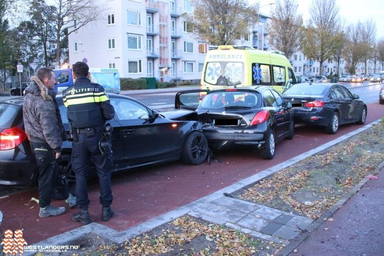 Veel schade en gewonde door alcomobilist