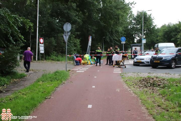 Wielrenner gewond bij ongeluk Lozerlaan