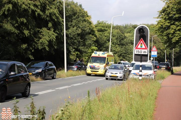 Ongeluk na onwelwording achter het stuur
