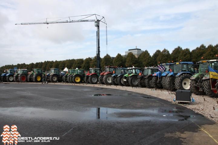 Boeren opnieuw in actie tegen de regering