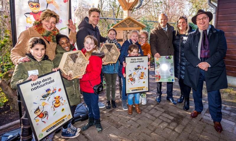 Vliegende start voor bijencampagne in Zuid Holland